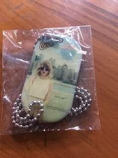 taylor swift 1989 genuine necklace