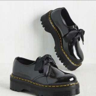 收 dr martens molly holly 厚底 緞帶 馬丁鞋