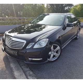 Mercedes Benz E200 BlueEfficiency