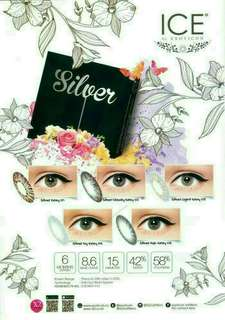 Softlens Silver Ice by Exoticon