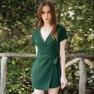 Playsuit in Green