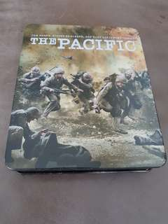 The Pacific tin set