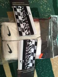 Nike Headbands & Nike Crew Socks