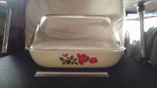 (Negotiable) Rose Pyrex