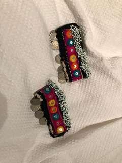 Kuchi Afghan vintage Anklets / bracelets