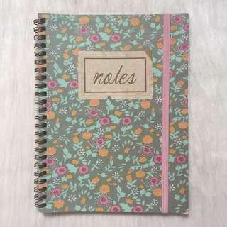 BN Typo Floral Notebook