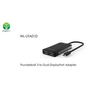Wavlink WL-UTA01D Thunderbolt 3 to Dual DisplayPort Adapter