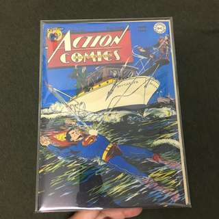 Action Comics 123 DC Comics Book Superman Movie Justice League