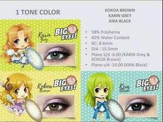 Softlens Shin Manga 1 Tone Color