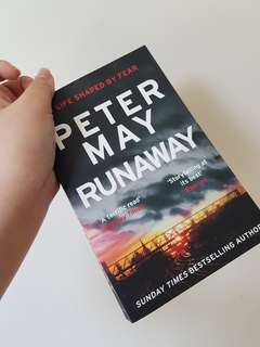 BN PETER MAY THE RUNAWAY PAPERBACK MYSTERY