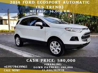 Ford Ecosport 2014 Trend A/T (1.5)