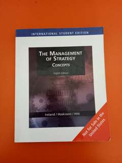 The management of strategy concepts