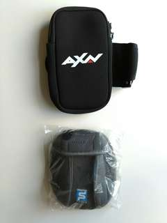 Arm pouches for running