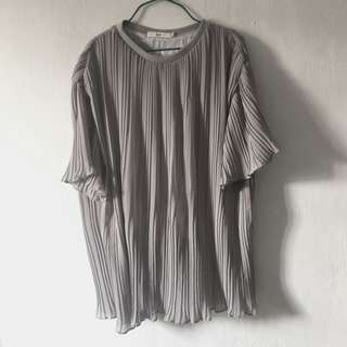 Flare Pleats Top