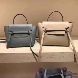 Celine nano Belt Bag 杏色