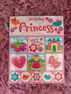 210 Mini Stickers <Special Princess>