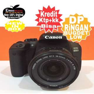 Kredit Low DP 2jt Canon EOS 800D 18-55mm Resmi Promo DItoko ktp+kk Wa;081905288895