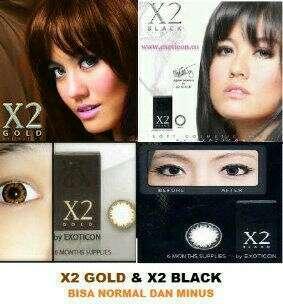 Softlens X2 Black & Gold
