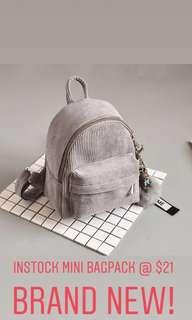 Mini Bagpack (INSTOCK)