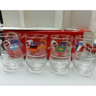可口可樂 '98世界杯限定版水杯