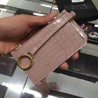 Ysl card holder 卡片套 卡包