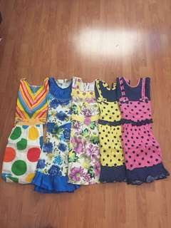 All 6 Cotton frocks