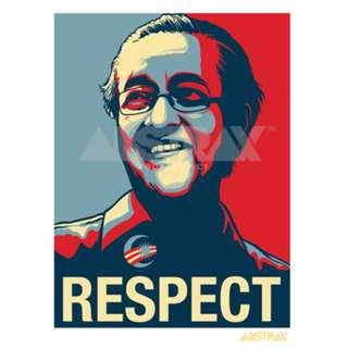 TMR RESPECT CAR-STICKER