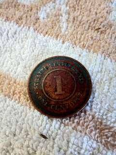 Duit syiling Victoria Queen tahun 1897