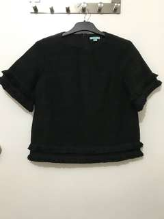 Black kookai top