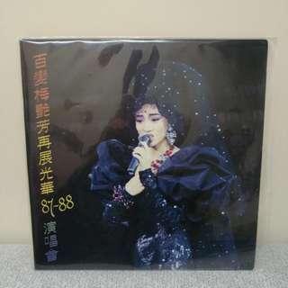 87至88年 百變梅艷芳再展光華 絕版 LP 孖碟 黑膠唱片