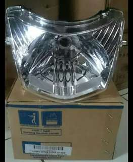 Headlamp lampu depan supra fit new