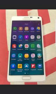 Samsung note 4 32gb phone for sale(AUTO SWITCHING OFF)