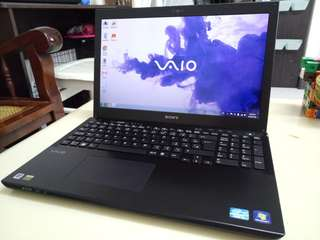 SONY Vaio 15.6inch/4Gb/640Gb hdd/i3/win7