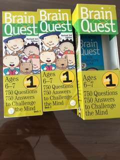 Brain Quest for 6-7 years old