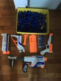 Nerf Guns and 200+ Darts