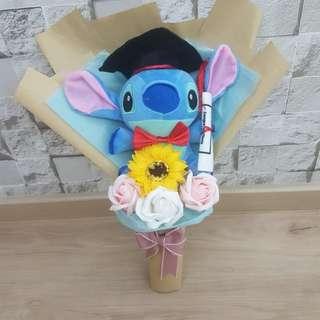 Stock clearance stitch graduation bouquet