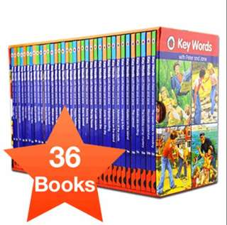 [SALE] Ladybird Keywords with Peter and Jane Collection Book Set (Key Words)