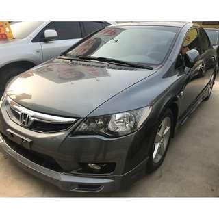 2009 Civic K12 黑內裝 天窗 全額貸 低月付 低利率