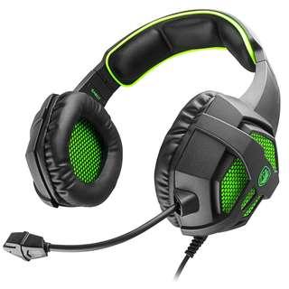 37. SADES SA-807 Multi-Platform Gaming Headset Headphones (Green)