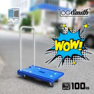 (OUT-OF-STOCK) Trolley Portable  Foldable 100 kg Load Cap ( Very similar to  PRESTAR 100kg MP Model )