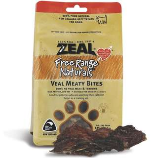 Zeal® Free Range Naturals Veal Meaty Bites Dog Treats 125g (BUY 2 FREE 1)