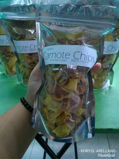 Camote Chips