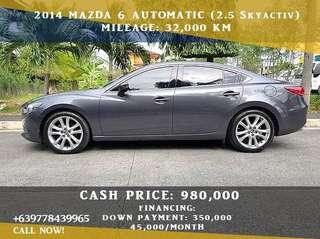 Mazda 6 2014 Skyactiv A/T (2.5)