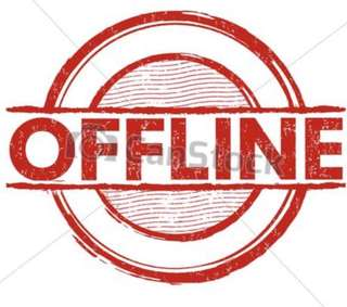 Offline May 12,2018 onwards
