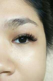 Eyelashes Extertion