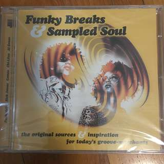 Funky Breaks & Sampled Soul ( CD )