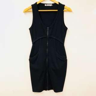 Alexander Wang black dress size XS