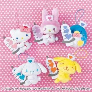 全新日本直送全套 Sanrio 公仔🎉預售