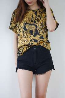 Stylenanda Gold chains Top