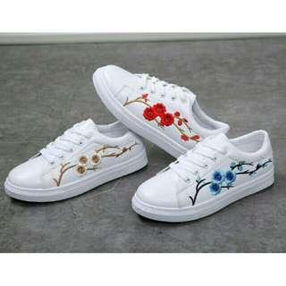 Rose Plum Sneakers